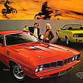 1971 Plymouth Barracuda by Digital Repro Depot