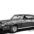 1971 Pontiac G T O by Jack Pumphrey