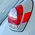 1971 Volkswagen Vw Beetle Taillight by Jill Reger