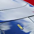 1972 Ferrari 365 Gtb 6c Emblem  by Jill Reger
