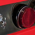 1972 Ferrari 365 Gtc-4 Emblem by Jill Reger