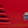 1972 Maserati Ghibli 4.9 Ss Spyder Emblem by Jill Reger