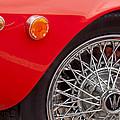 1972 Maserati Ghibli 4.9 Ss Spyder Wheel by Jill Reger