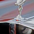 1984 Rolls-royce Silver Spur Hood Ornament by Jill Reger
