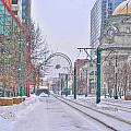1st Real Snow Golddome 2012 by Michael Frank Jr