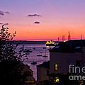 Sunrise Falmouth Docks by Brian Roscorla