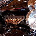 1931 Duesenberg Sj Derham Convertible Sedan by David Patterson