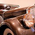 1933 Pierce-arrow 12 Model 12412 Labaron Convertible Coupe by David Patterson