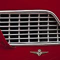 1960 Maserati 3500 Gt Coupe Emblem by Jill Reger