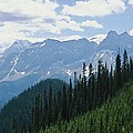 A Scenic View Of The Rocky Mountains by Michael Melford