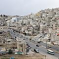 A Street Scene In Amman, Jordan by Taylor S. Kennedy