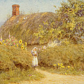 A Surrey Cottage by Helen Allingham