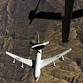 A U.s. Air Force E-3 Sentry Aircraft by Stocktrek Images
