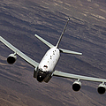 A U.s. Air Force Rc-135 Rivet Joint by Stocktrek Images