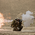A U.s. Contractor Fires by Terry Moore