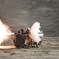 An Afghan Police Studen Fires by Terry Moore