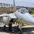 An F-15c Eagle Baz Aircraft by Giovanni Colla