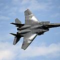 An F-15e Strike Eagle Soars by Stocktrek Images
