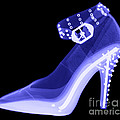 An X-ray Of A High Heel Shoe by Ted Kinsman