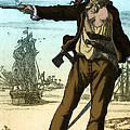 Anne Bonny, 18th Century Pirate by Photo Researchers
