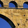 Aqueduc Du Pont Du Gard.provence by Bernard Jaubert