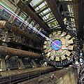 Atlas Detector, Cern by David Parker