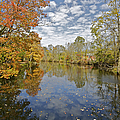 Autumn Colors On The Delaware And Raritan Canal by David Letts