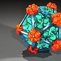 Bacteriophage Alpha 3, Artwork by Laguna Design