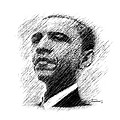 Barack Obama by John Travisano