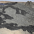 Basaltic Lava Flow From Pit Crater by Richard Roscoe