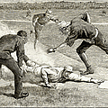 Baseball Game, 1885 by Granger
