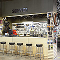 Bicycles And The Servicesales Desk by Roberto Westbrook