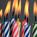 Birthday Candles by Photo Researchers, Inc.