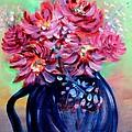 Blue Vase by Janice Robertson