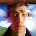 Brainwave-reading Headset by Volker Steger