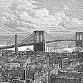 Brooklyn Bridge, 1883 by Granger