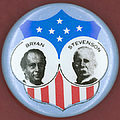 Bryan Campaign Button by Granger
