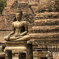Buddha At Sukhothai by Bob Christopher