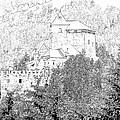 Burg Reifenstein Sterzing Italy by Joseph Hendrix