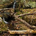 Buttermilk Falls by Mike Horvath