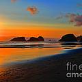 Cannon Beach Sunset by RJ Aguilar