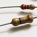 Carbon Film Resistors by Photo Researchers, Inc.