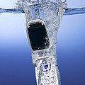 Cell Phone Dropped In Water by Ted Kinsman