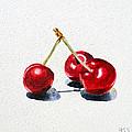 Cherries by Irina Sztukowski