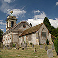 Church Of St. Lawrence West Wycombe  by Chris Day