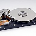 Computer Hard Disc by Trevor Clifford Photography