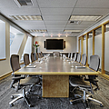 Conference Table And Chairs by Andersen Ross
