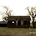 Dilapidated Old Farm House . 7d10341 by Wingsdomain Art and Photography