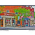 Downtown Willoughby by Jack Schultz