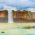 Dry Nur Waterfall by MotHaiBaPhoto Prints
